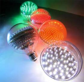 3-Dimensional LED Bulbs