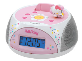 KT4560 Stereo Clock Radio Docking Station For iPod