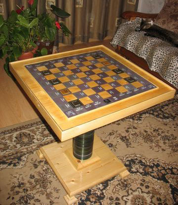 Multiprocessor Chess Table