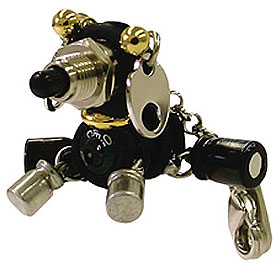Robodog Accessory Made Of Electronic Parts