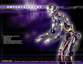 Entertainment Robot Sarcoman
