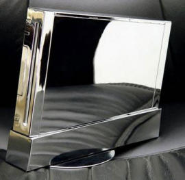 Wii Gets a Chrome case