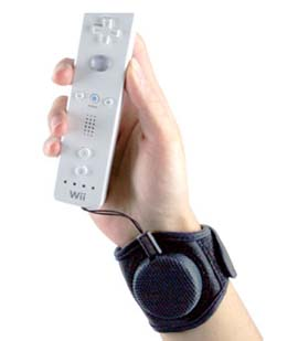 Retractable Wii Sports Cuff For Remote Control